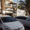 Los taxistas comienzan una huelga indefinida al inicio de las fiestas de Motril