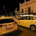 Los taxistas piden presencia policial en la plaza de Las Galeras de Cádiz