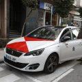 El primer taxi con la bandera de Vigo ya está en la calle