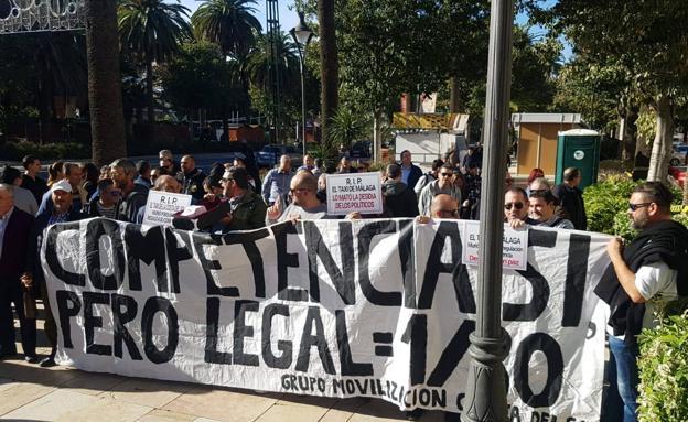 concentración Málaga