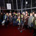 200 personas mayores de Vigo pudieron disfrutar del alumbrado navideño