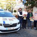 Taxistas de Marbella trasladan gratis a los mayores para disfrutar de la Navidad