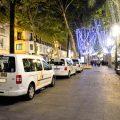 """Nuevo """"Paseo de la ilusión"""" de los taxistas en Sevilla"""