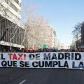 El taxi de Madrid anuncia una nueva huelga para el 21 de enero