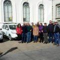 Los taxis de El Puerto de Santa María también colaboran en la lucha contra la violencia machista