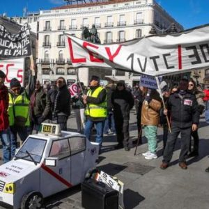 taxistas-madrid-huelga
