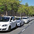 El servicio de taxi de Pamplona al centro penitenciario amplía sus horarios a partir de mañana