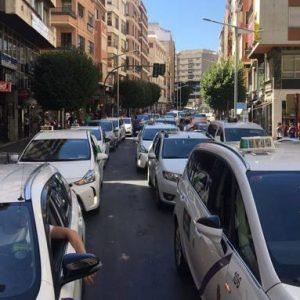 JAEN-taxistas
