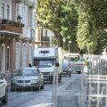 Los taxistas de Cádiz, perjudicados por las obras del Campo del Sur y la Alameda