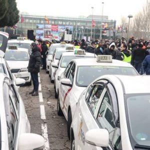 taxis-huelga-Madrid