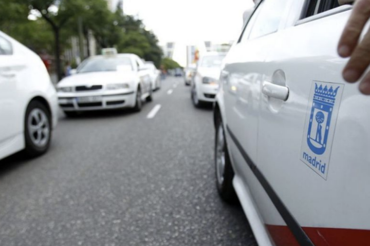 reglamento taxi Madrid