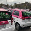 Taxistas de Ciudad de México se manifestarán de nuevo el próximo 21 de octubre