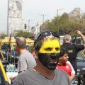 Taxistas de Buenos Aires cortan el centro de la ciudad en protesta contra Uber y Cabify