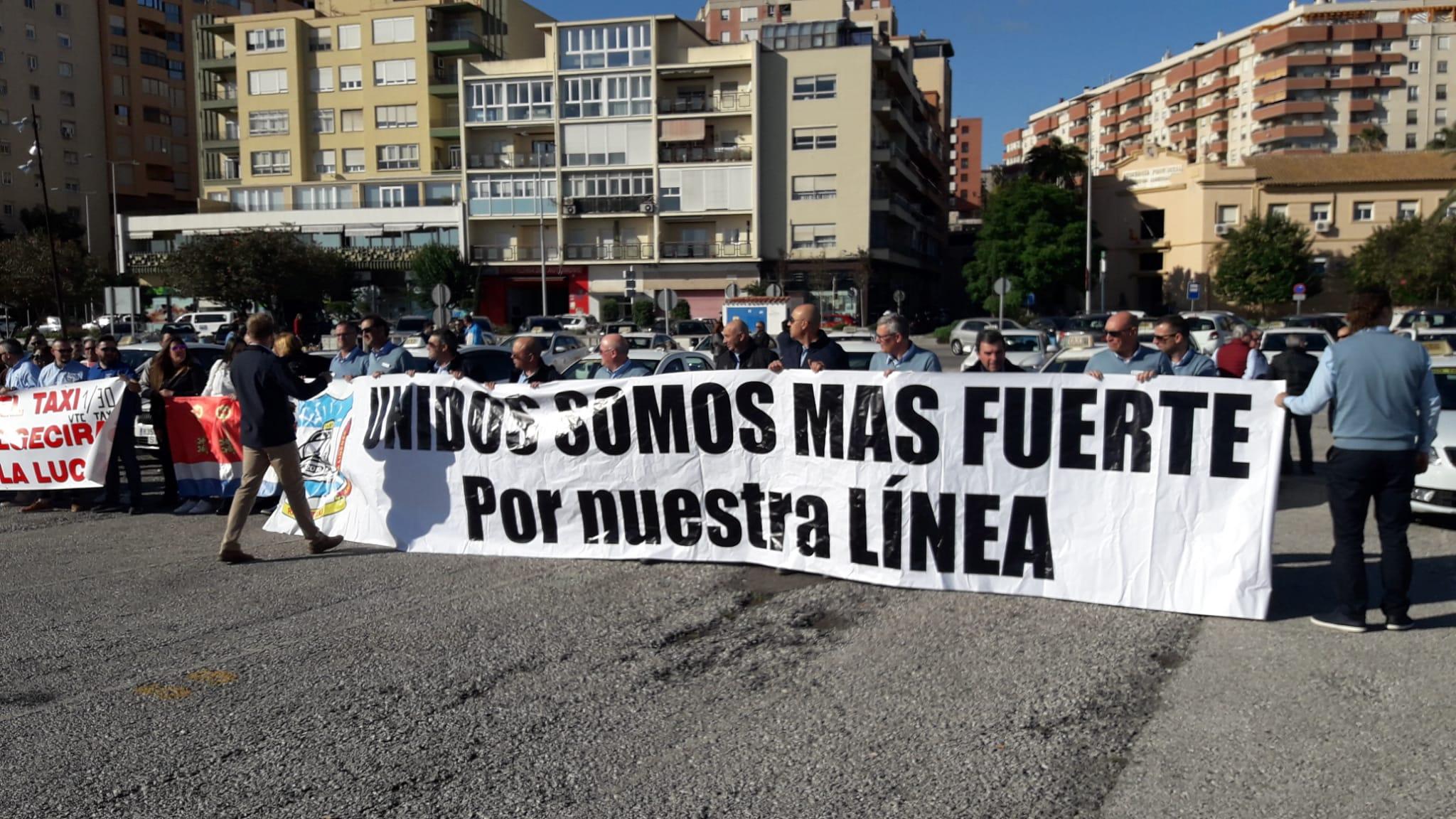manifestación taxi andalucía