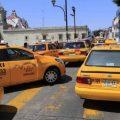El taxi de México se manifiesta contra Uber en Oaxaca