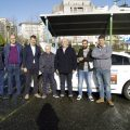 Llega a Galicia el primer taxi 100% eléctrico