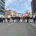 Taxistas de Madrid se concentran en Transportes con una sola reivindicación: que se cumpla la ley