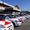 Central Radio Taxi Vigo 470000 dona al CIFP de Coia material para elaborar pantallas protectoras para sanitarios