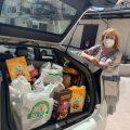 Taxiluz reparte más de 2 toneladas de comida entre las familias del sector más afectadas por la crisis