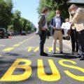 El Ayuntamiento de Madrid ampliará más de 45 km los carriles bus-taxi