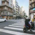 Detenido tras amenazar a un taxista de Valencia con un cuchillo de grandes dimensiones
