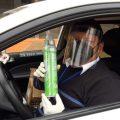 Un taxista de Perú ayuda a estabilizar a personas con la Covid-19 mediante oxígeno portátil