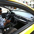 Los taxistas de Quito se concentran contra las aplicaciones Uber y Cabify
