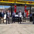 Giuseppe Grezzi inaugura el evento del automóvil ecológico celebrado en TAXCO para el taxi valenciano