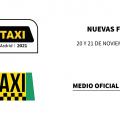 La Feria del Taxi 2020 se aplaza y traslada sus fechas a noviembre de 2021