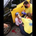 Un taxista de Barcelona recibe una brutal agresión cuando prestaba servicio