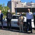 El taxi compartido desembarca en A Coruña de la mano de la aplicación Compartaxi
